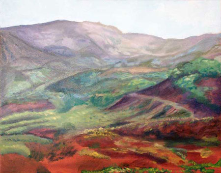 Jinotega mountains Nicaragua
