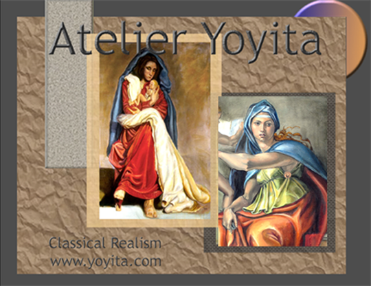 Atelier Yoyita Art Gallery Renaissance Classical Realism Portraits Landscapes Miniatures Yoyita art gallery