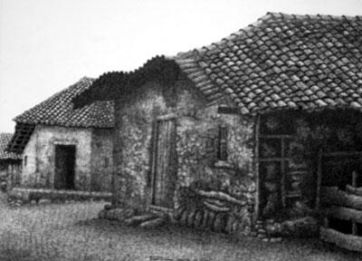 casitas por Carlos Montenegro
