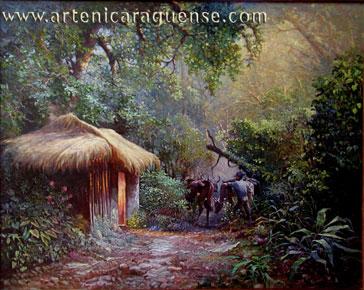 Amanecer del campesino Mauricio Rizo