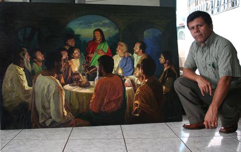 Mauricio Rizo, artista nicaraguense, Arte Nicaraguense, Atelier Yoyita