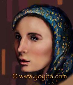 Expectation on faith Digital art by Yoyita Atelier Yoyita Art Gallery © Dr. Gloria  M. Norris Yoyita