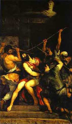 Crown of thorns Titian