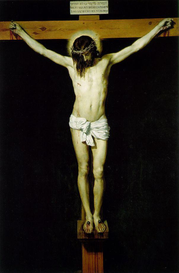 PRIÈRE À JÉSUS CRUCIFIÉ Velazquez_christ