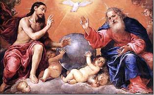 Gloire au Pere Santa Trinidad. Antonio de Pereda