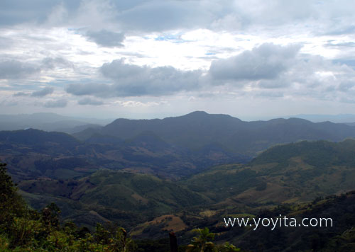 Jinotega mountains