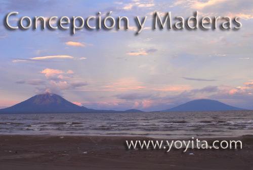 Volcanes Concepcion y Maderas Nicaragua yoyita