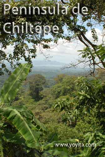peninsula de chiltepe Managua