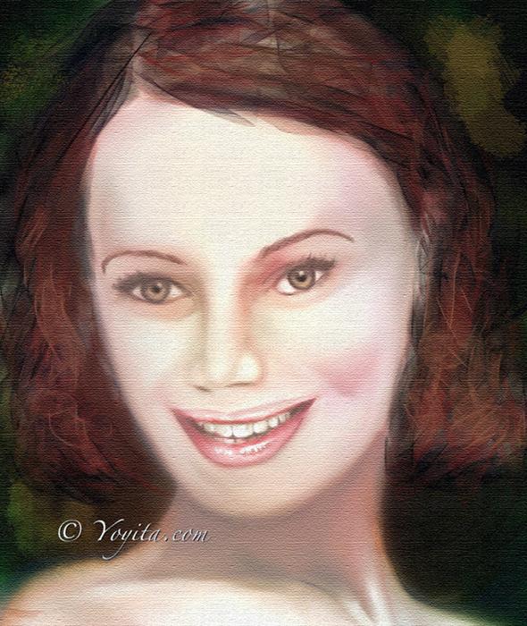 Rotschopf portrait Yoyita