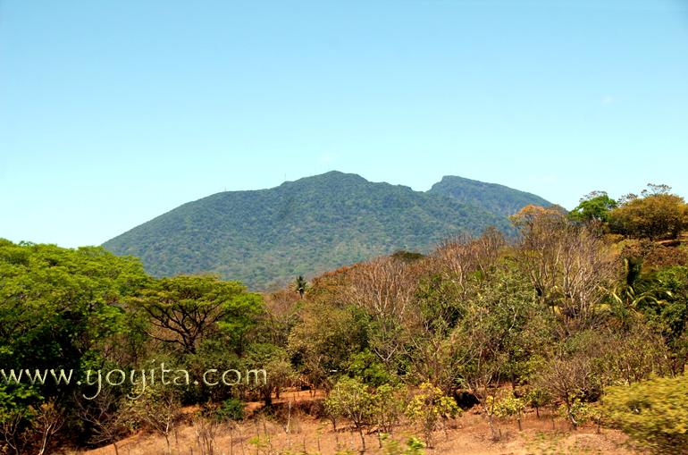 Mombacho Volcano, Nicaragua with tropical vegetation