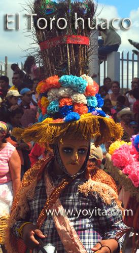 bailes nicaraguenses El toro huaco, guaco