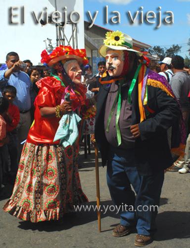 bailes nicaraguenses El viejo y la vieja