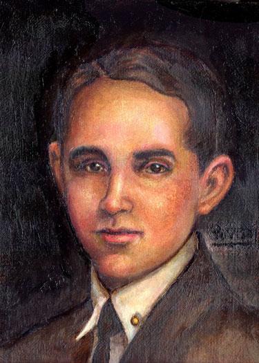 肖像画 of Benjamin Zeledon © Yoyita