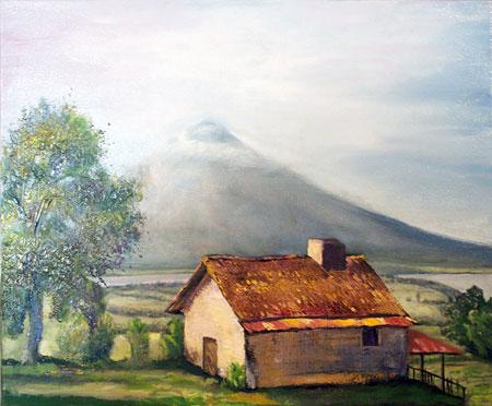 Altagracia ometepe Vulkan concepcion nicargua