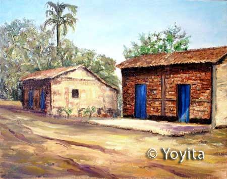 Pinturas de Nicaragua Altagracia Ometepe Island Nicaragua © Yoyita