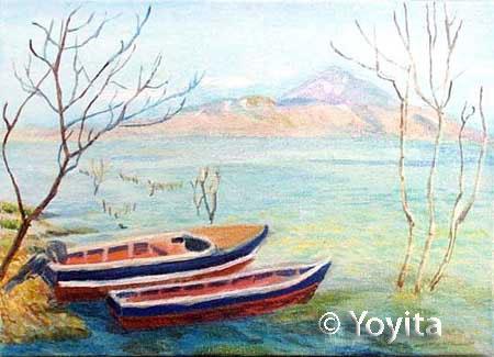 lago de managua  © Yoyita Dra Gloria M Sanchez de Norris