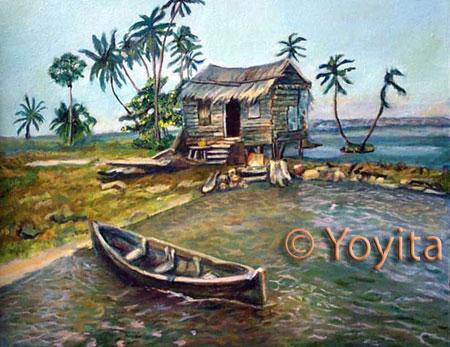 Atlantic Coast, Nicaragua © Dra. Gloria M. Sanchez de Norris Yoyita