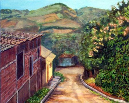 San Juan del Sur town, Nicaragua © Dra. Gloria M. Sanchez de Norris Yoyita