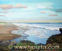 Playa nicaraguense