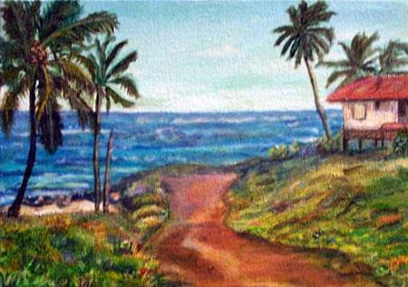 mar y arena, paisaje de nicaragua  © Yoyita Dra Gloria M Sanchez Zeledon de Norris