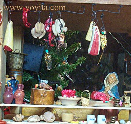 meat market nativity Yoyita