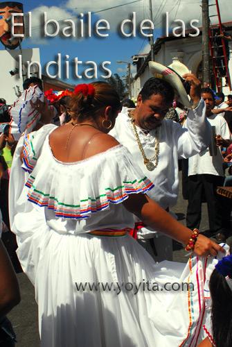 el baile de las inditas