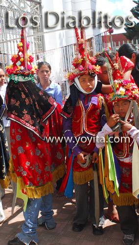 los diablitos bailes nicaraguenses