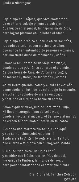 Canto a Nicaragua