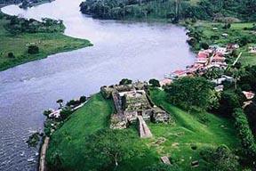 The Immaculate Castle Rio San juan Nicaragua