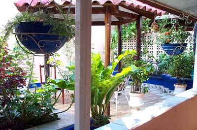 Nicaraguahaus, Innengarten