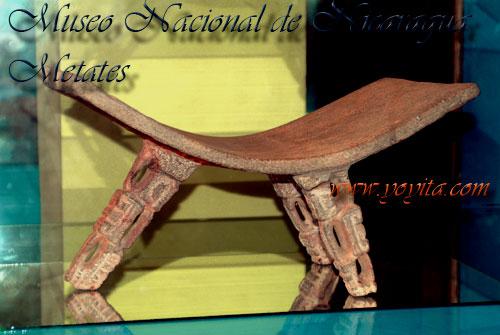 metates nicaraguenses museo nacional de Nicaragua Yoyita