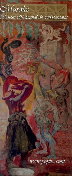 murales Museo Nacional de Nicaragua yoyita