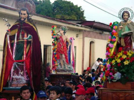Saint Santiago, Saint Sebastian Saint Marcos