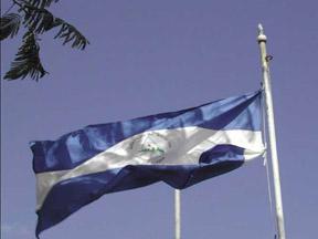 Nicaraguamarkierungsfahne