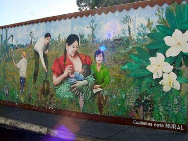 Nicaraguawandbilder