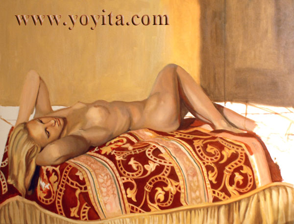 reclining nude female 01 Above is Vanessa Hudgen's controversial nude photo that could either make or ...