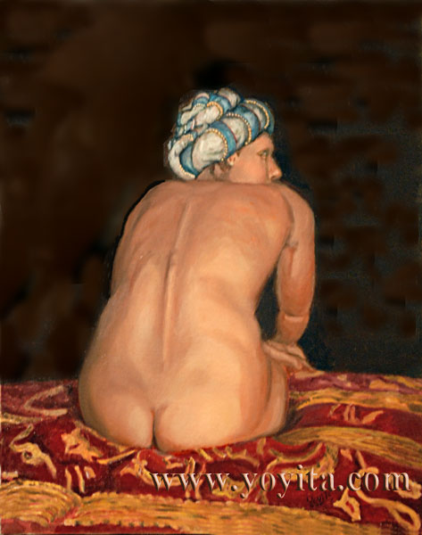 the turban classical nude © Dr. Gloria  M. Norris  yoyita