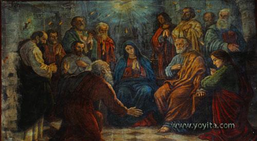comming holy spirit