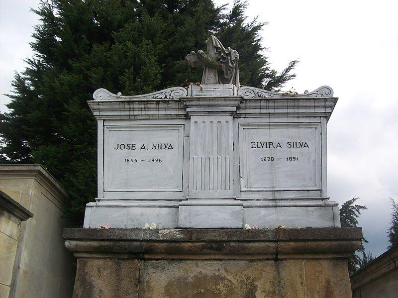 tumba poeta Jose Asuncion Silva