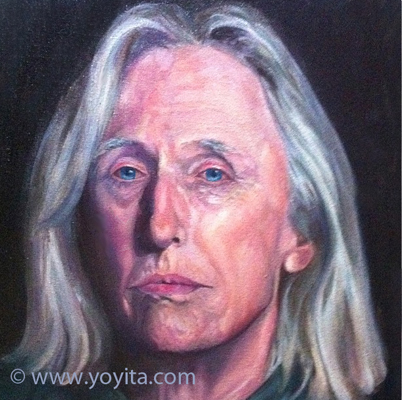 portrait of David oils by Yoyita