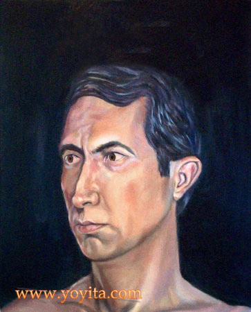 Anthony portrait by Dr. Gloria  M. Norris Yoyita