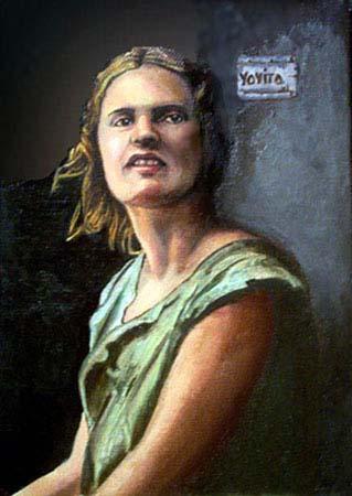 portrait Ayn Rand  © Yoyita