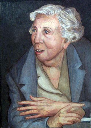 肖像画 Eudora Welty © Yoyita