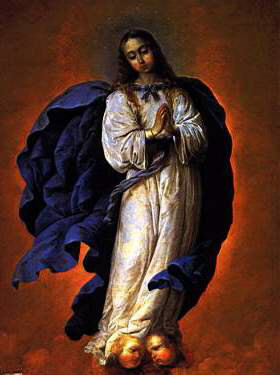 Immaculate Conception Zurbaran