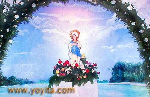 altar la purisima de los Sanchez Zeledon Yoyita