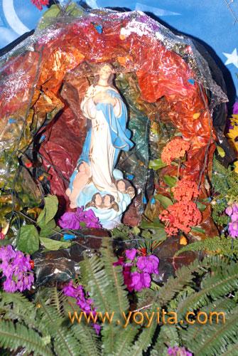 altar la purisima de los Medrano yoyita