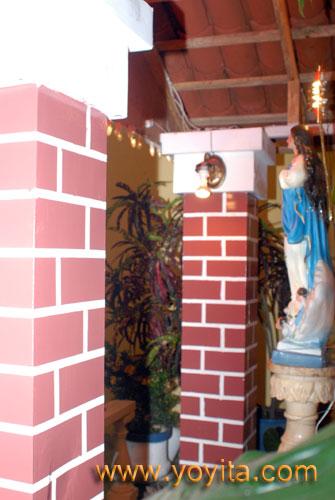 Altar de la Purisima de Los Sanchez Zeledon