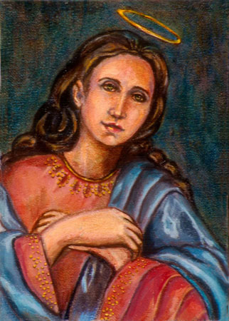 Virgin Mary © Dr. Gloria  M. Norris Yoyita