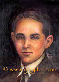Benjamin oil painting