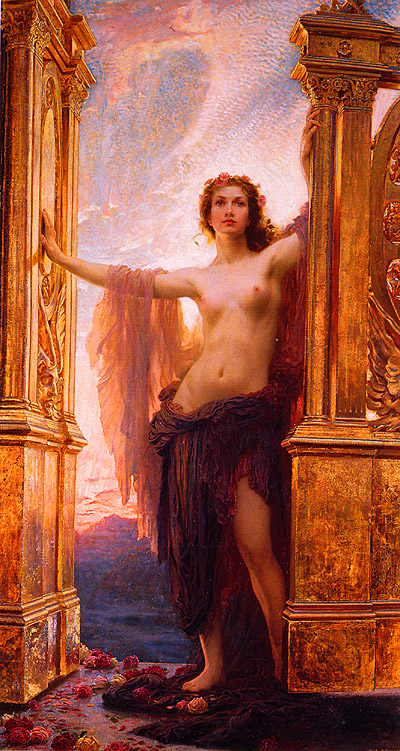 Herbert Draper The Gates of Dawn
